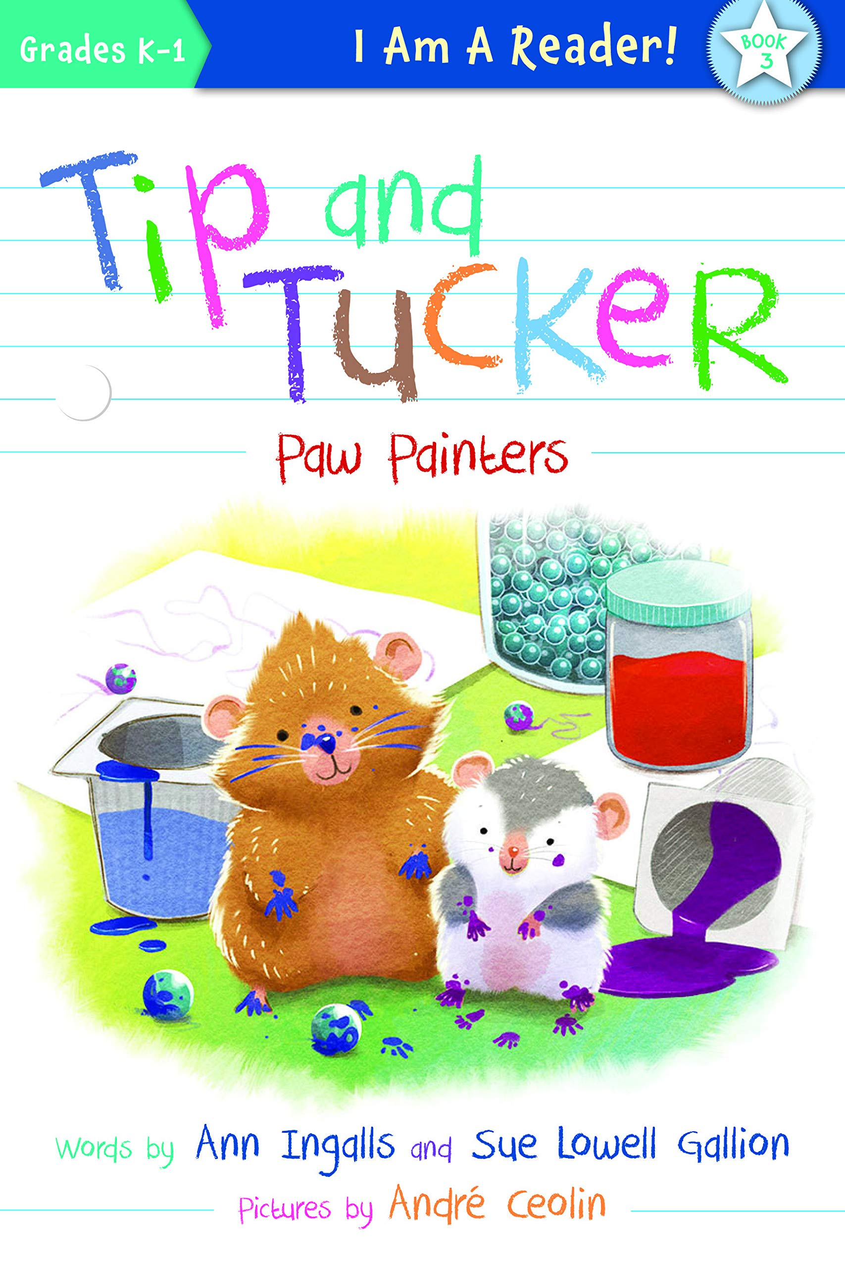Tip and Tucker: Paw Painters!